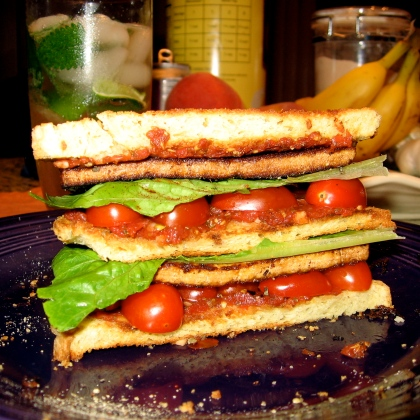 Triple Decker Dinner Sandwich