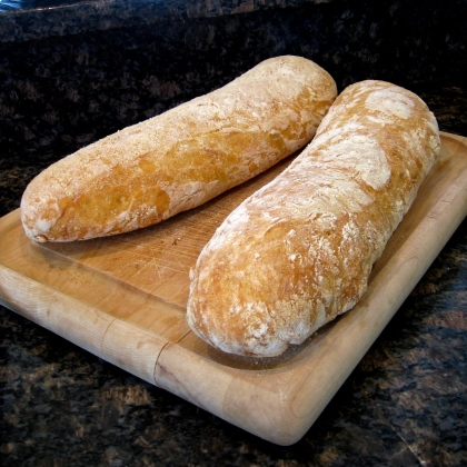 beautiful ciabatta