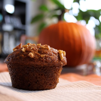 Pumpkin Ginger Muffin
